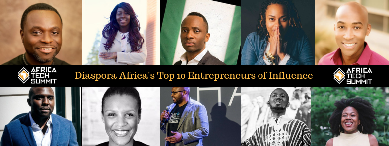 Diaspora Africa's TOP 10 ENTREPRENEURS OF INFLUENCE