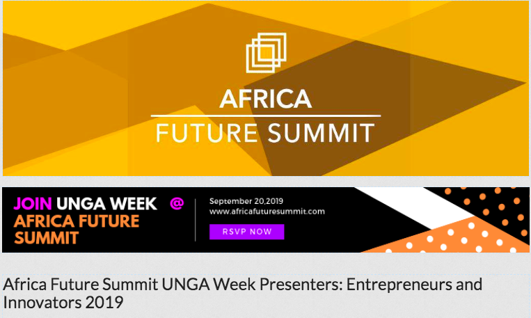 Africa Future Summit 2019- Presenter Candidates: Call for Votes